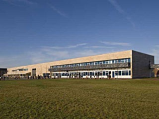 The new Howe Dell Primary School.